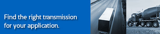 Transmission application chart banner